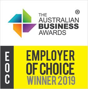 Australian Business Awards Employer of Choice Winner 2019